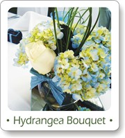 wedding centerpiece ideas, hydrangea bouquet