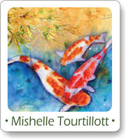 Mishelle Tourtillott Button