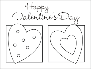 photo relating to Printable Valentine Day Cards for Kids identified as Filled Animal Sewing Behavior: Squishy-Lovable