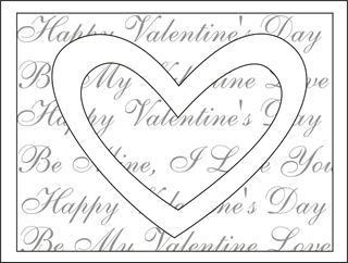 Printable Valentines Day Cards Teddy Bears Coloring Pages Updated
