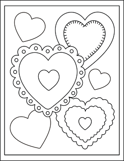 Printable Valentine Cards For Kids | Free Valentine Coloring Cards