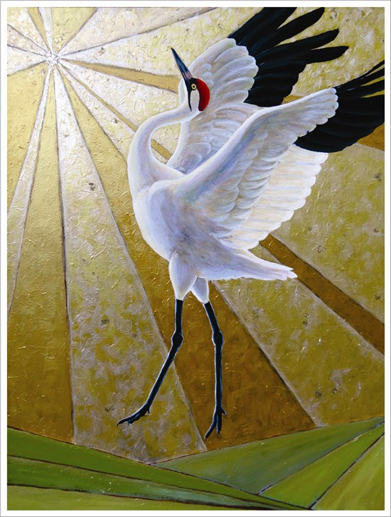 ande hall, bird painting