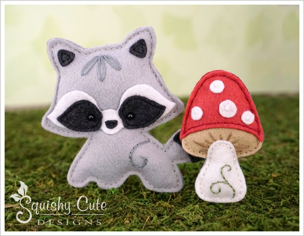 Stuffed Animal Sewing Patterns: Squishy-Cute DesignsFelt Tree Stump ...