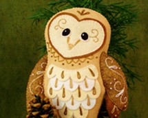 barn owl sewing pattern