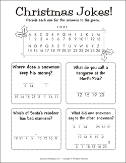 Kids Printable Activities | Christmas Coloring Pages & Puzzles