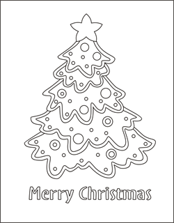 christmas tree coloring card christmas coloring cards free coloring cards christmas coloring pages