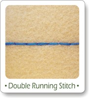 double running stitch