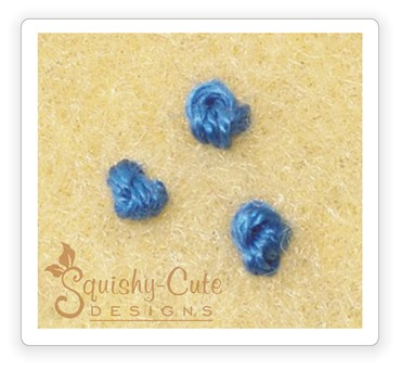 french knot, embroidery, sewing