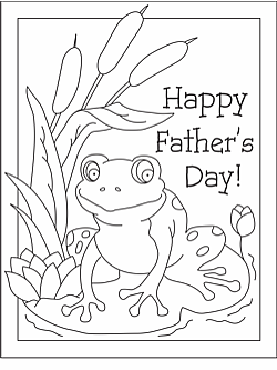 It is a graphic of Epic Printable Fathers Day Cards to Color