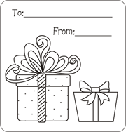 Printable Gift Tags Present Free Christmas