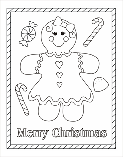 gingerbread girl coloring page gingerbread man coloring pages gingerbread boy coloring sheets christmas - Gingerbread Man Color Page