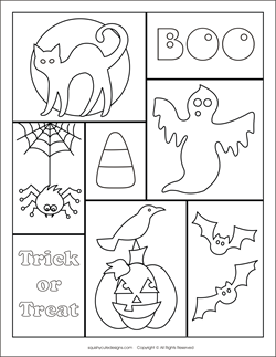 Free Halloween Coloring Pages, Halloween Coloring Sheets, Ghost Coloring  Pages, Spider Coloring Pages