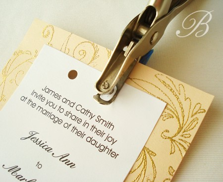 Homemade Wedding Invitation Ideas