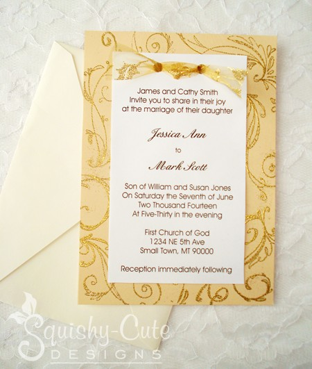 homemade wedding invitation ideas do it yourself wedding invitations