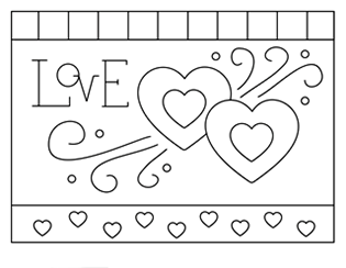 Valentine Coloring Pages Activities