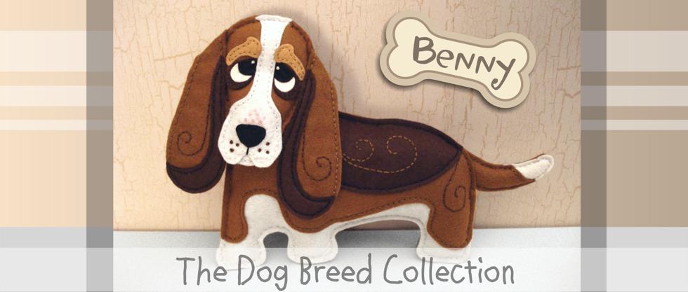 basset hound pattern, felt sewing pattern, felt dog, hound dog, felt basset hound, basset hound stuffed animal, plushie