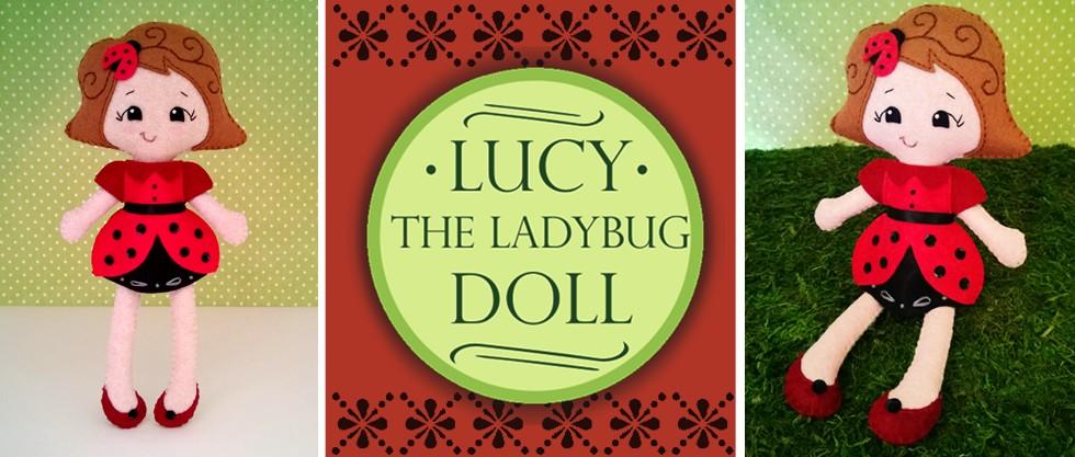 ladybug doll sewing pattern
