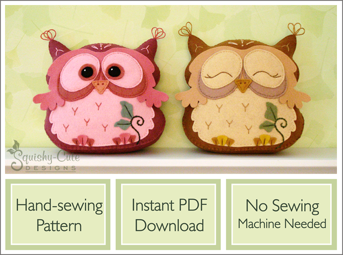 Stuffed Animal Sewing Patterns Squishy Cute Designsnewsletter