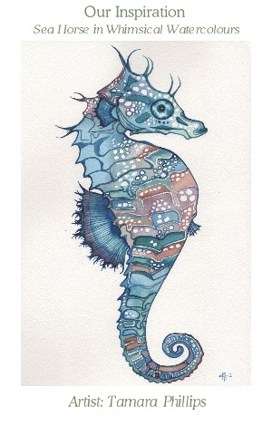 free hand embroidery designs, embroidery patterns, seahorse embroidery