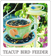 easy to make bird feeder, teacup feeder, teacup crafts