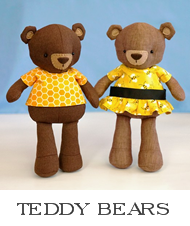 teddy bear pattern, sewing pattern, bear doll, doll sewing pattern, stuffed animal bear, pdf pattern