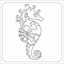 #4 Whimsical Seahorse