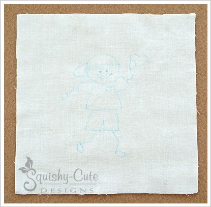transfer embroidery patterns, tracing paper