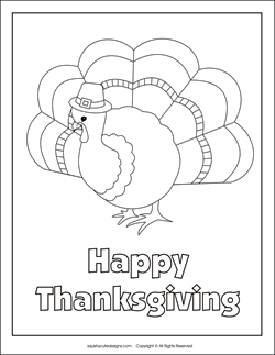 Turkey Coloring Pages Free Thanksgiving Autumn Fall