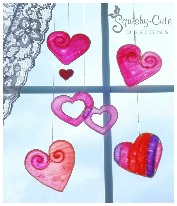valentine crafts for kids, stained glue, stained glass alternative, kids crafts, valentine crafts