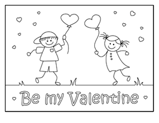 Valentine Coloring Pages Activities Printable Puzzles