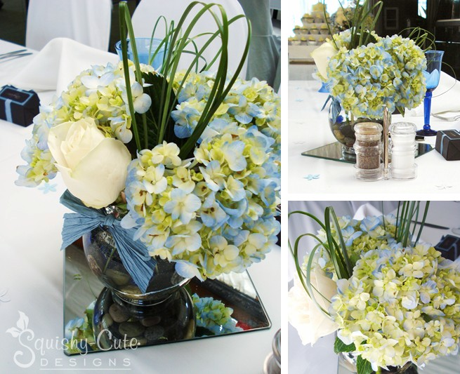 Wedding Centerpiece Ideas Hydrangea Bouquet