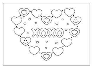 Valentine Coloring Pages & Activities | Printable Puzzles