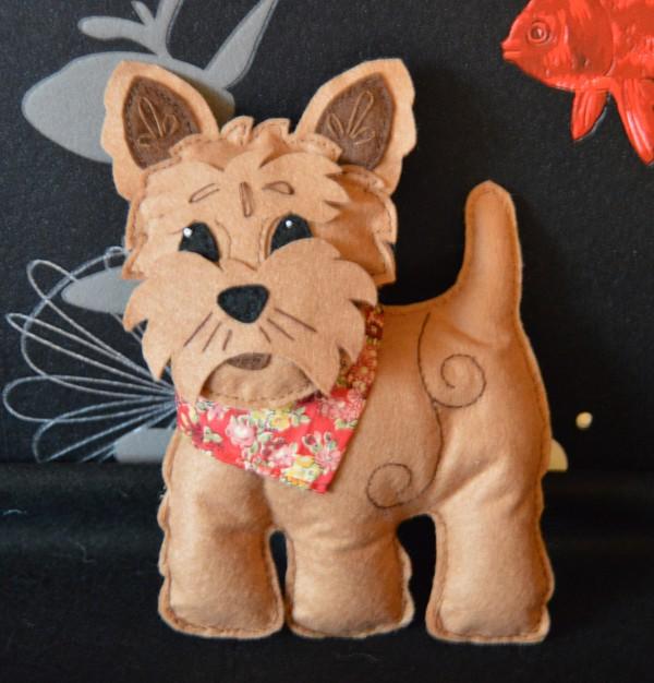 Amy Allen - Cairn Terrier 600