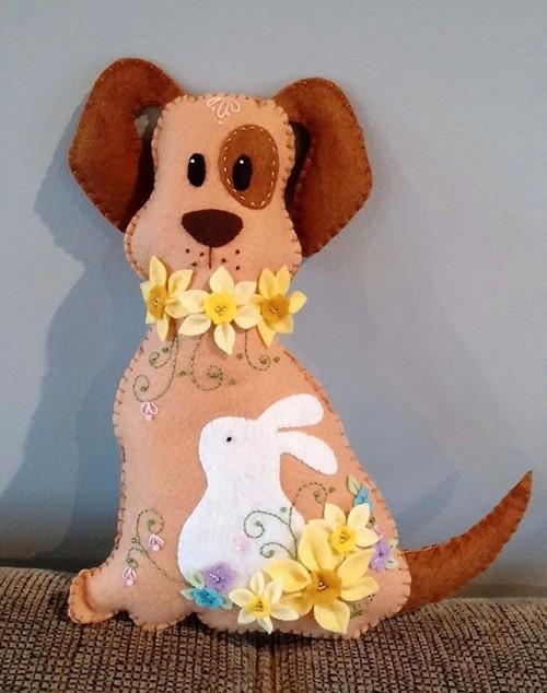 beth-ruth-daffodil-dog
